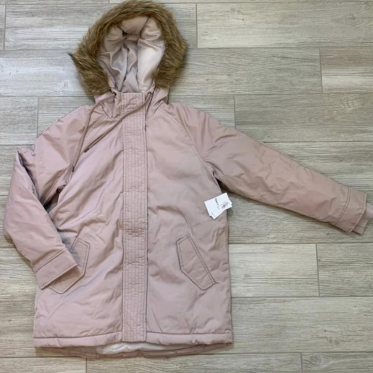 Brand New Gap Hooded Faux Fur Trim Parka for Women