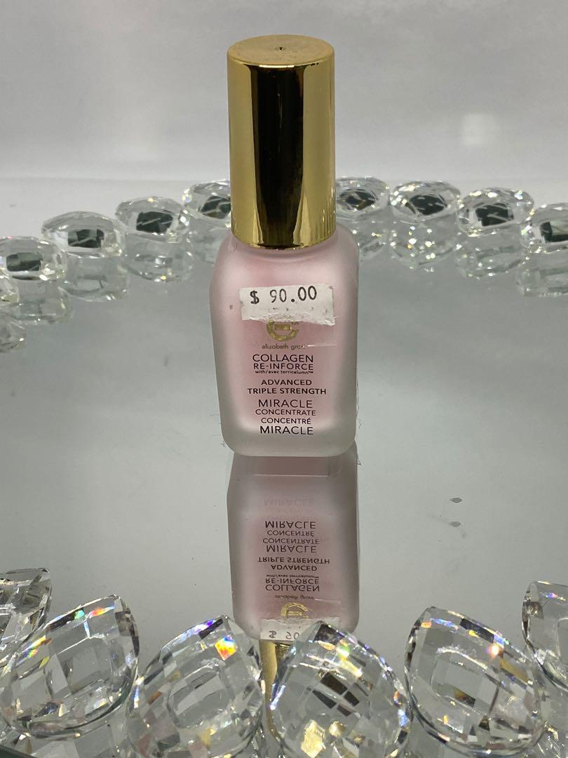 Collagen re-in force advanced triple strength miracle concentrate 30 ml $75