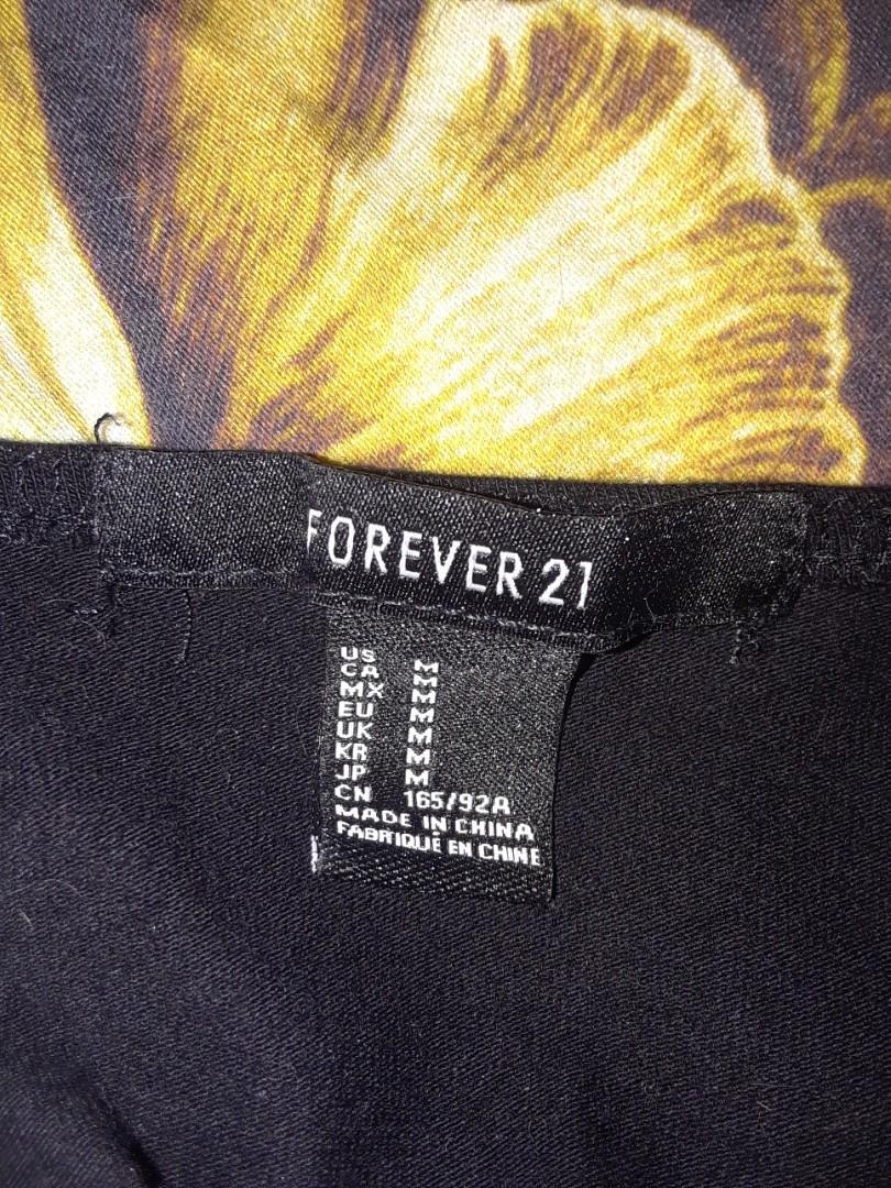 forever 21 black suspender clip crop top bralette bodice shirt