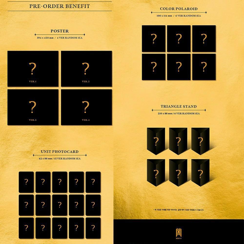 (FREE POSTAGE)(+STARSHIP BENEFITS)MONSTA X Mini Album [FANTASIA X]
