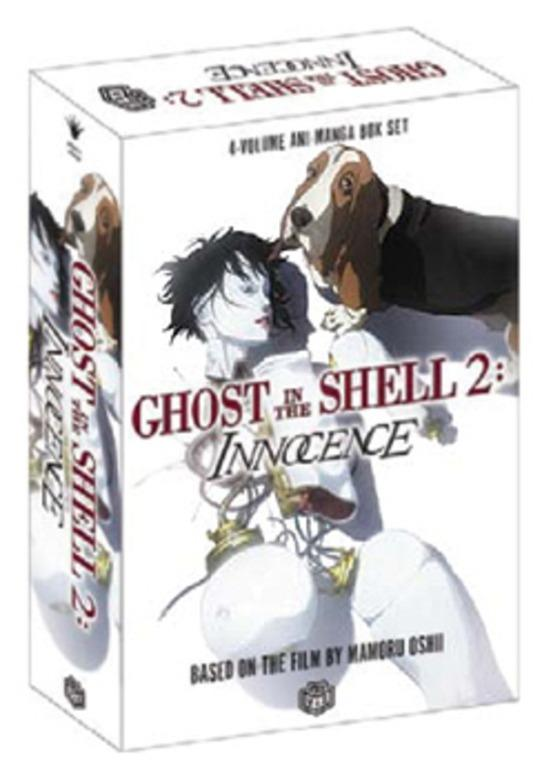 Ghost In The Shell 2 Innocence Anime Manga Box Set 4 Books Books Comics Manga On Carousell