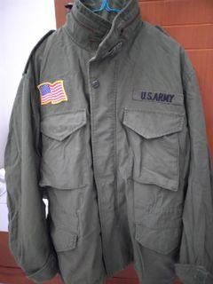 Jaket M65 army. Original patch