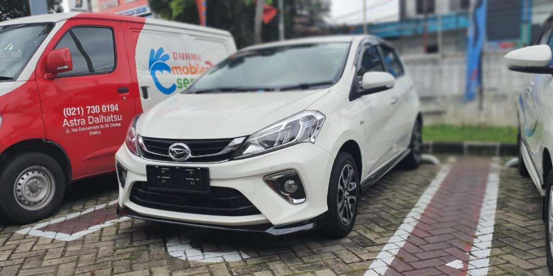 New Daihatsu Sirion Nik 2019 ( dp 35 jt ) hubungi : 08176300638