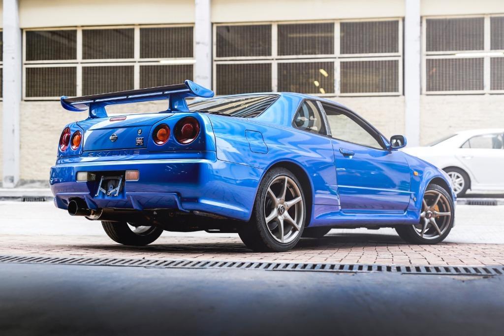 Nissan Skyline GTR R34 S1 ENGINE Manual
