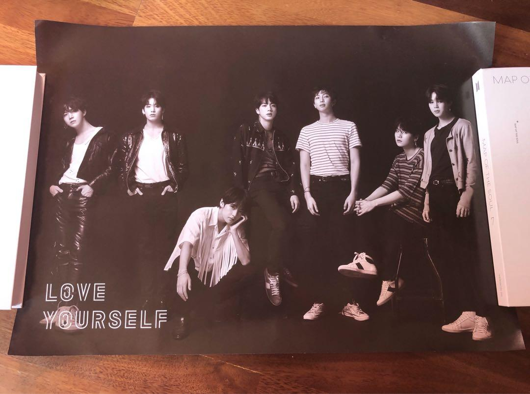 Official BTS Album Posters [MOTS: 7 / PERSONA / LY: TEAR]