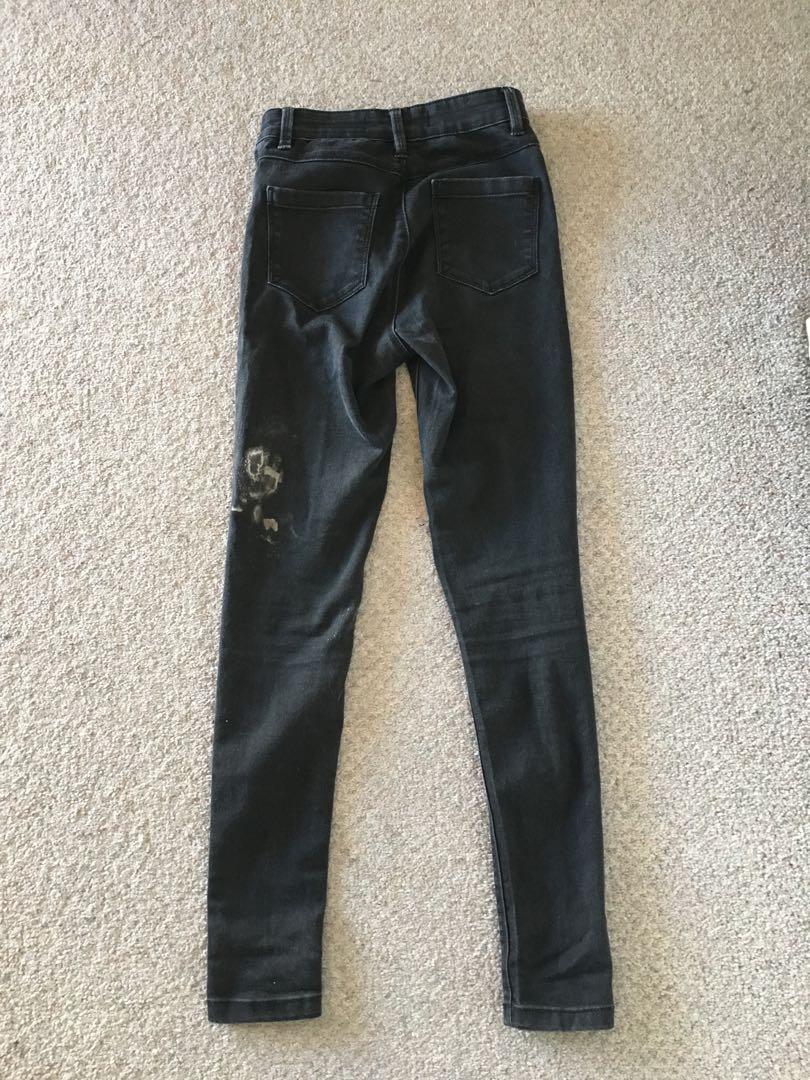 Size 6: denim jeans