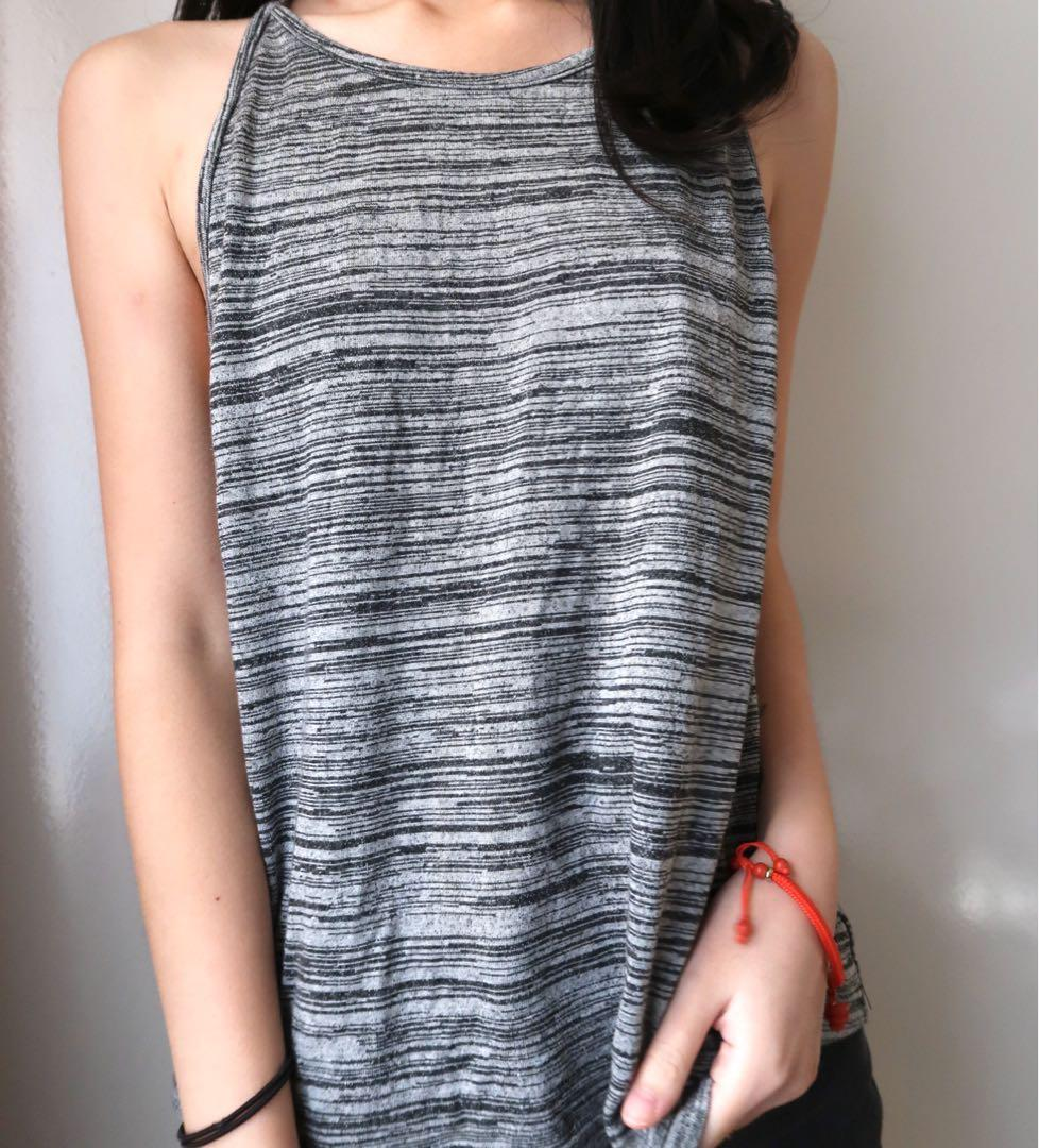 Size small: grey cute singlet top