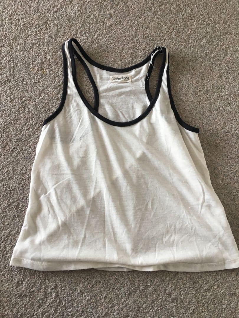 Size xs: cute basic tank top