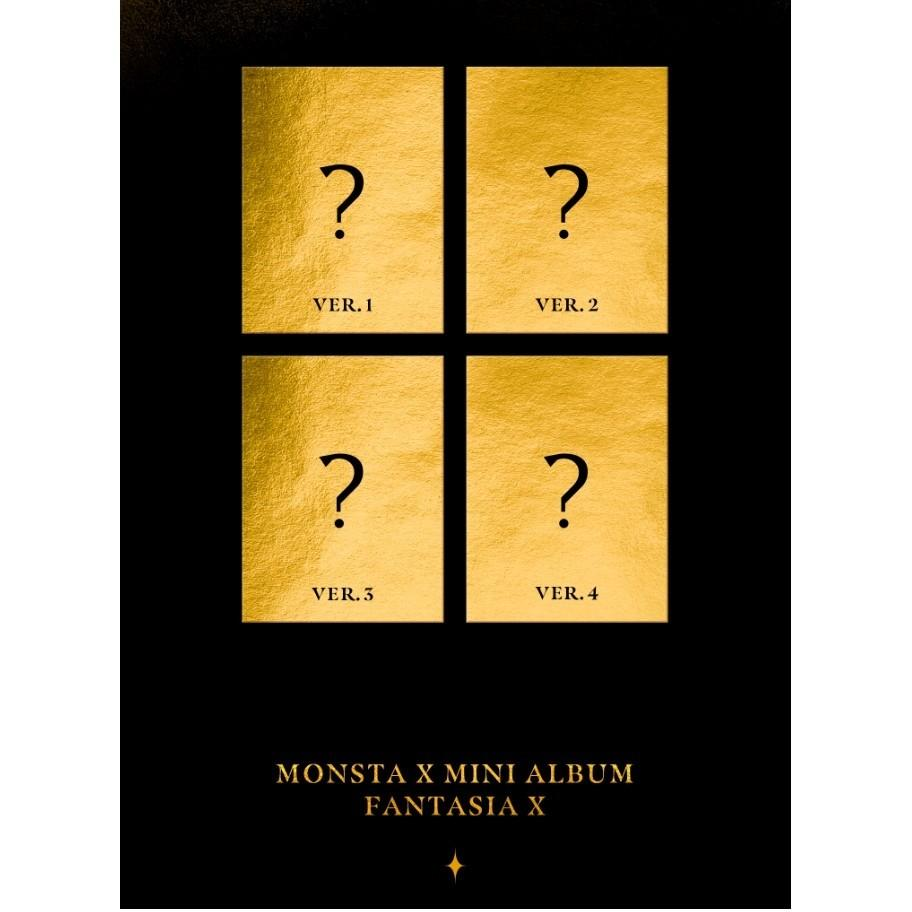 (Starship Benefit) MONSTA X - Mini Album [FANTASIA X]