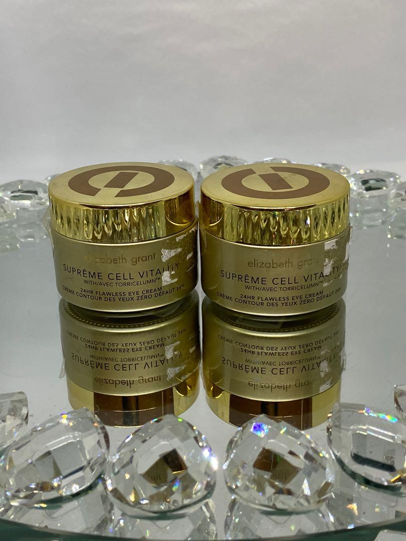 Supreme Cell Vitality 24HR flawless eye cream 30 ml retails for $70 each