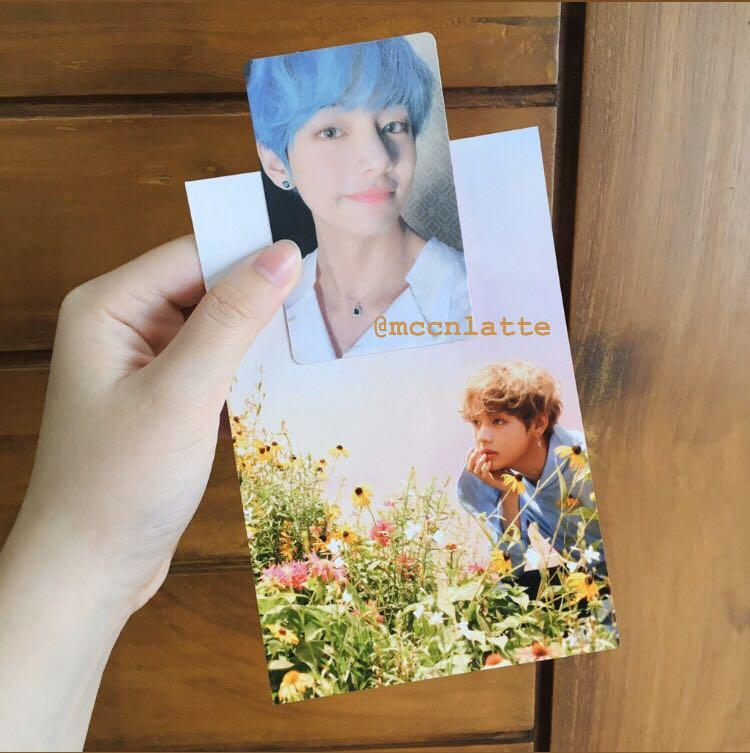 V TAEHYUNG ONEUL EXHIBITION LIVE PHOTO & PERSONA ALBUM PHOTOCARD VER 3