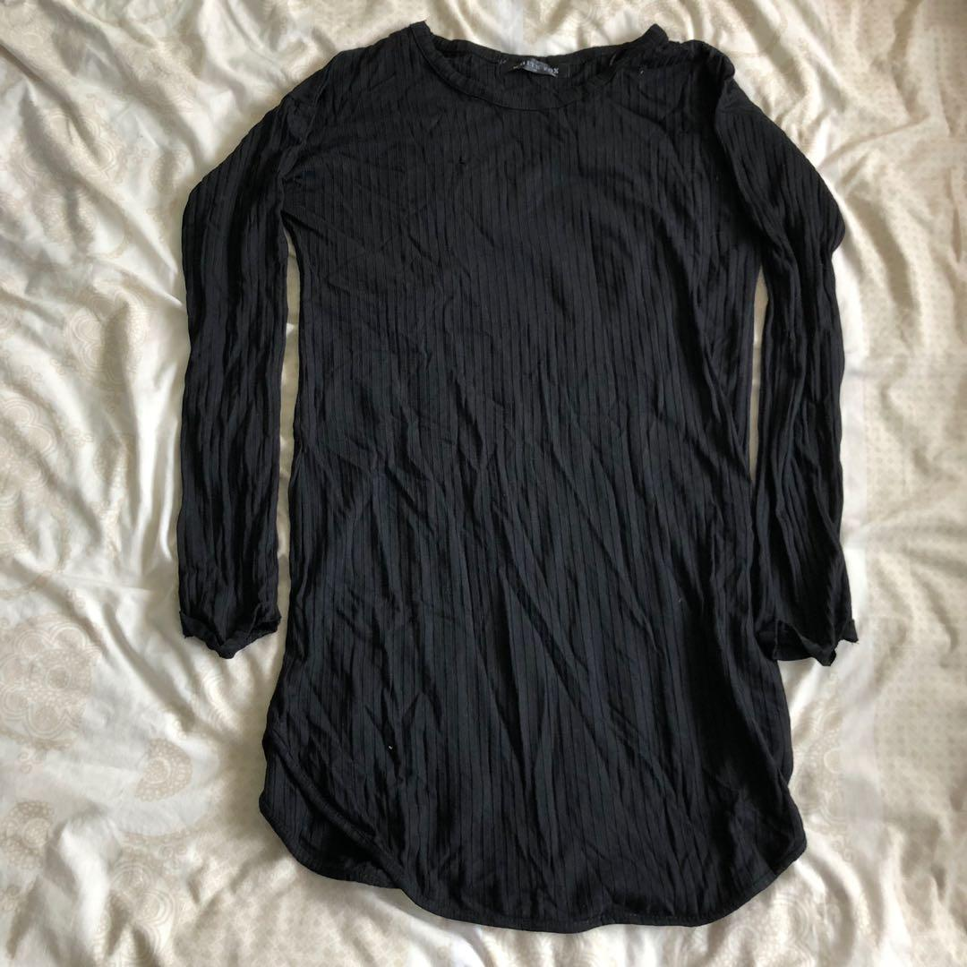 Whitefox Boutique bodycon shirt dress