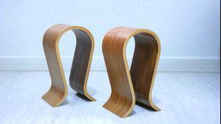 Omega Designer Wooden Headphone Stand