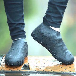 《全新現貨》1雙 加厚 雨鞋套 防雨鞋套 防水鞋套 雨鞋套矽膠 防雨鞋套 矽膠雨鞋套 雨具 機車雨鞋套 自行車鞋套 高彈力鞋套