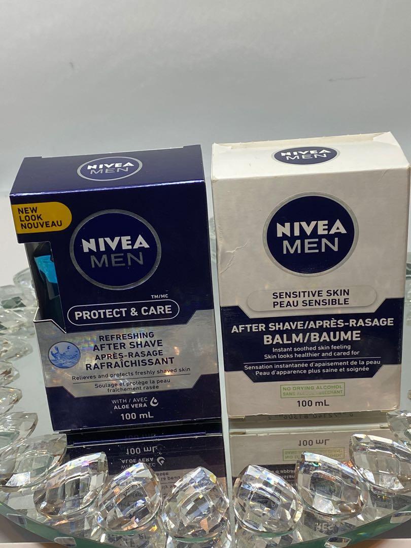 1. Nivea after shave(blue )&Nivea aftershave sensitive skin $