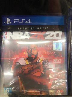 2K20 NBA  for ps4 new