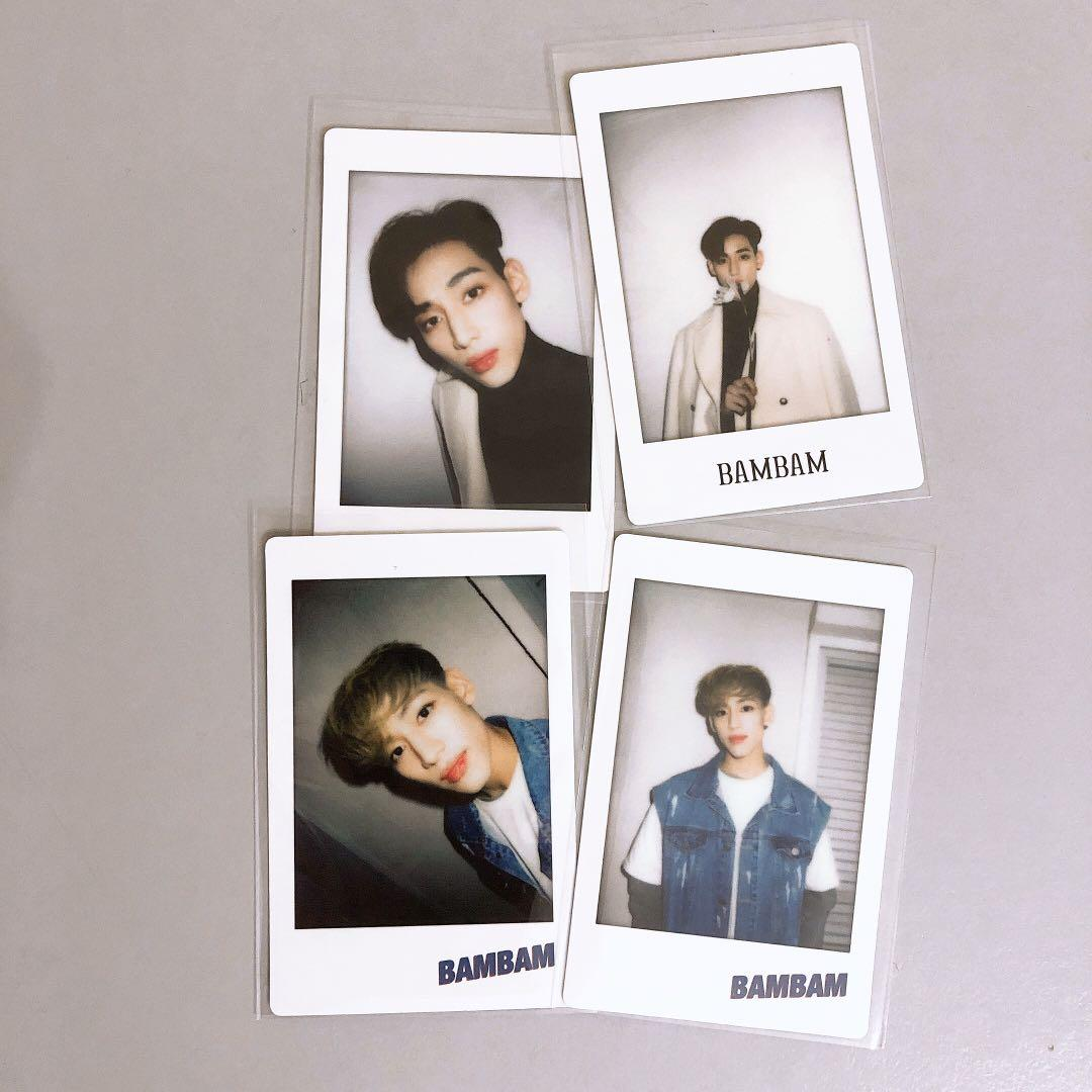 ⭐️ WTS ⭐️ BAMBAM Polaroid card [ From 6th merchandise ]