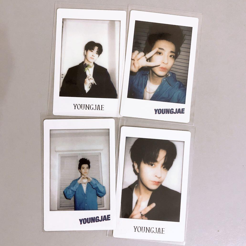 ⭐️ WTS ⭐️ YOUNGJAE Polaroid card [ From 6th merchandise ]