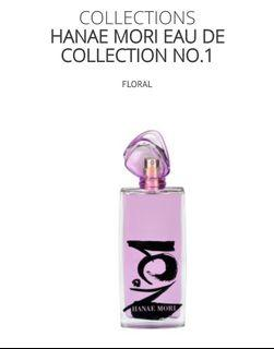 Brand New Sealed in Plastic Hanae Mori No 1 Parfum 100ml