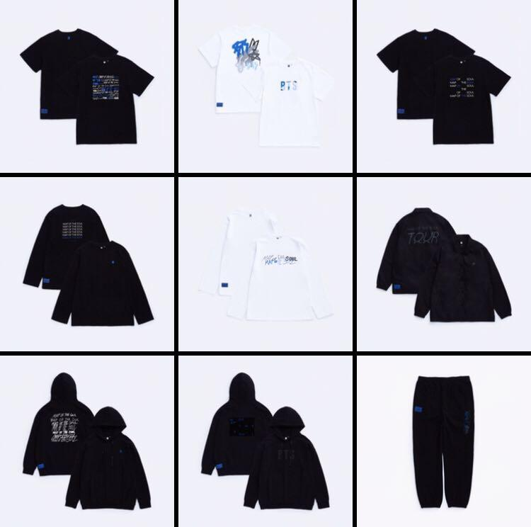[SECOND BATCH PREORDER] BTS MAP OF THE SOUL TOUR OFFICIAL MD