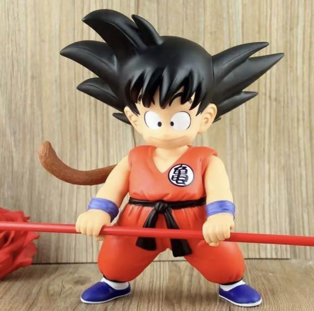 DRAGONBALL DX SOFT VINYL FIGURE 44314 - VER.2 SON GOKU 21CM COLLECTIBLE FIGURE