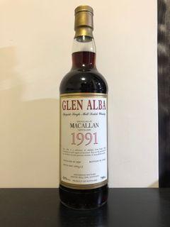 Glen Alba Macallan 1991 2009 (18 years) IB