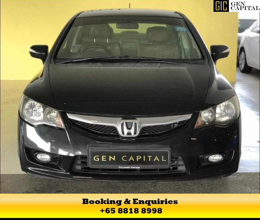 Honda Civic Hybrid - at 50% off circuit breaker rates! Hurry down to enjoy this promotion! Contact Megan now at 8818 8998!