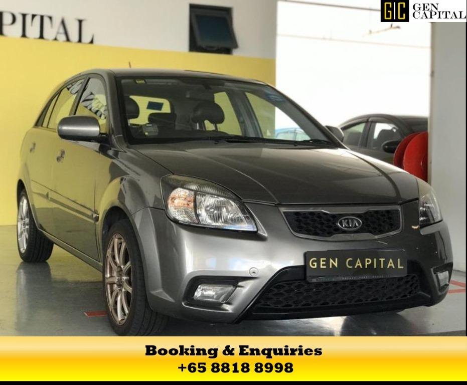 Kia Rio - Just In! at 50% off circuit breaker rates! Hurry down to enjoy this promotion! Contact Megan now at 8818 8998!