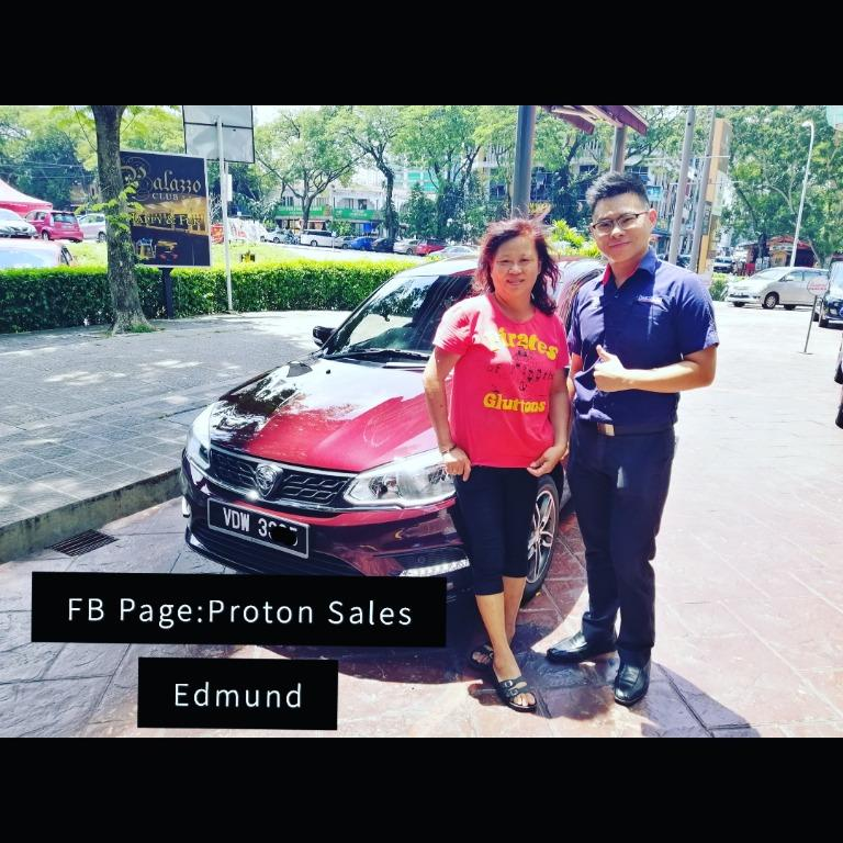 KL Kepong Proton Saga2020 Thanks Ms Yap Support On The Road