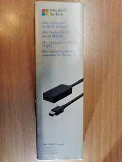 Microsoft 微軟 Surface Mini DisplayPort to HDMI 轉接頭 投影 簡報 必備