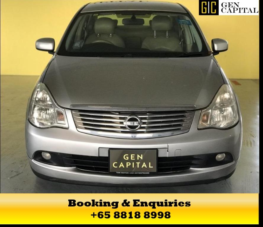 Nissan Sylphy - Get it today at the circuit breaker rates of 50% off! Too good to be true, whatsapp me at 8818 8998!