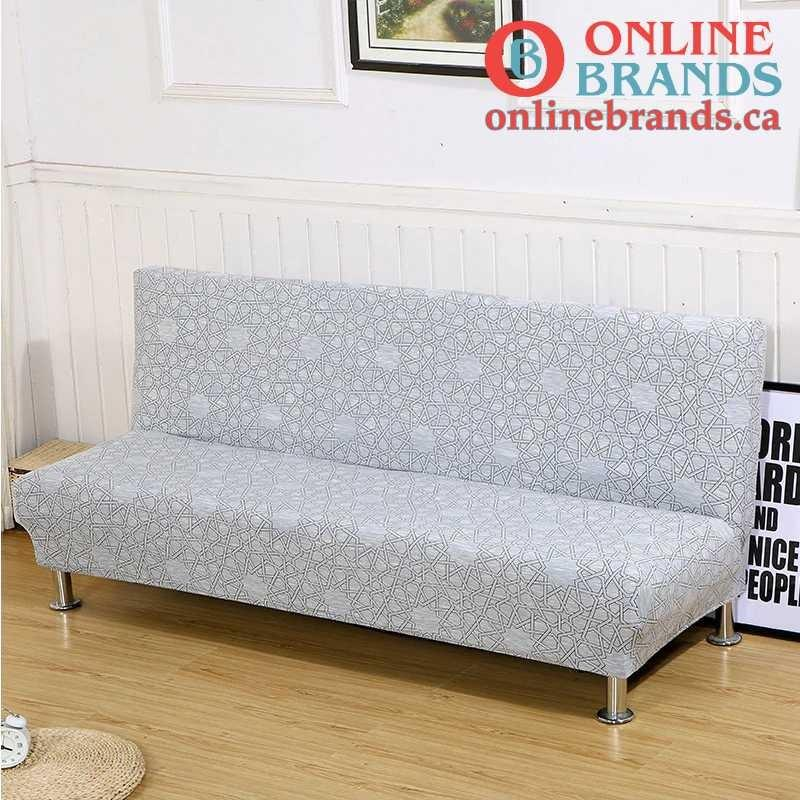 Pattern sofa cover for folding sofa | Couch covers for folding sofa | Free shipping in Canada | Online Brands