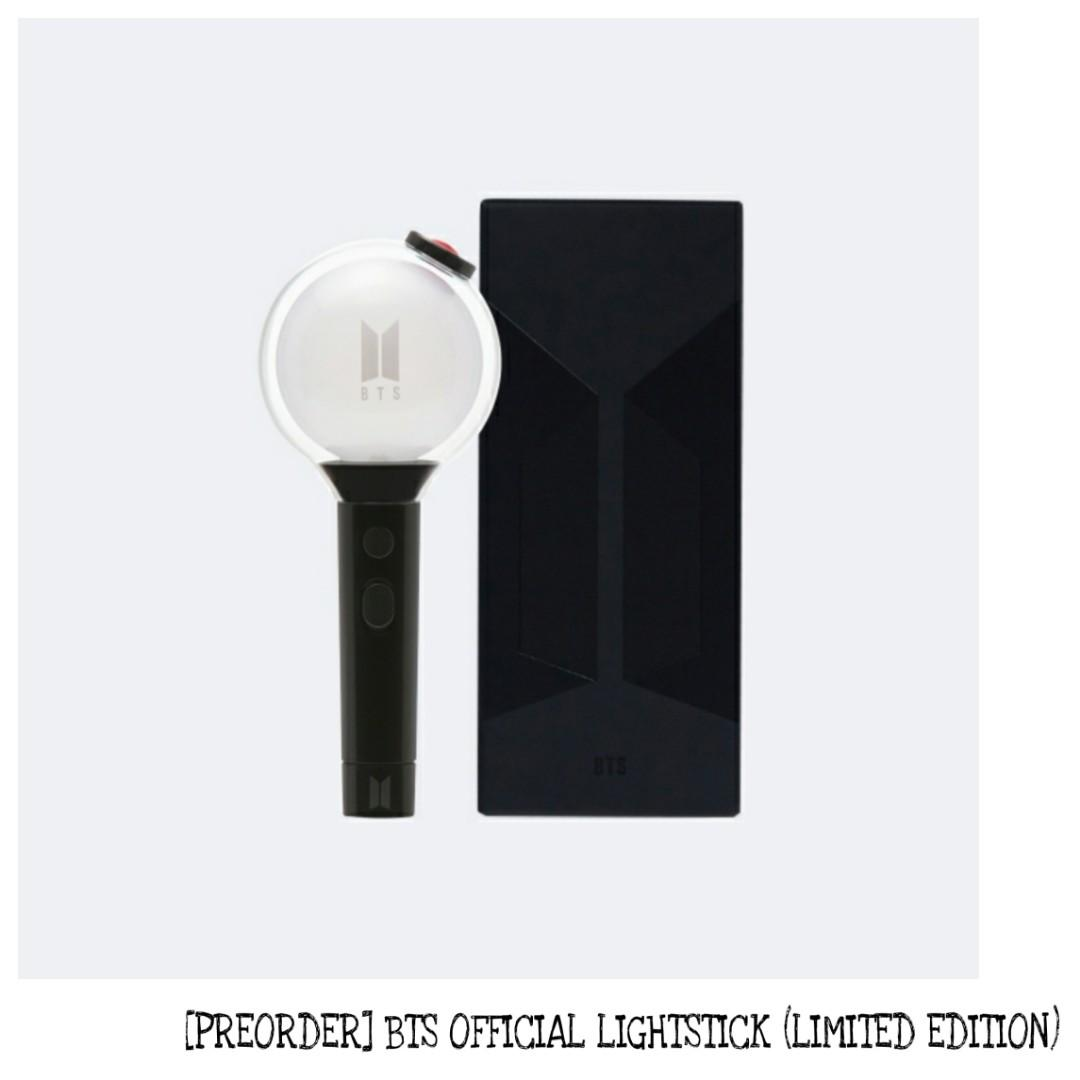 PREORDER BTS LIGHTSTICK MAP OF THE SOUL SPECIAL EDITION