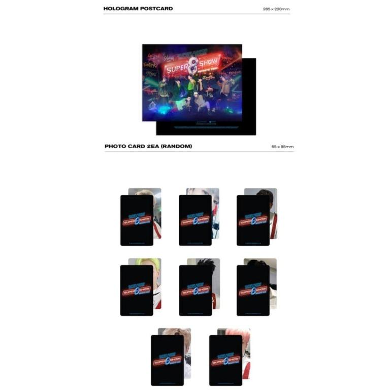 [Pre-order] SUPER JUNIOR SUPER SHOW 8: INFINITE TIME EXCLUSIVE PHOTO & ORIGINAL INTERVIEW PHOTOBOOK