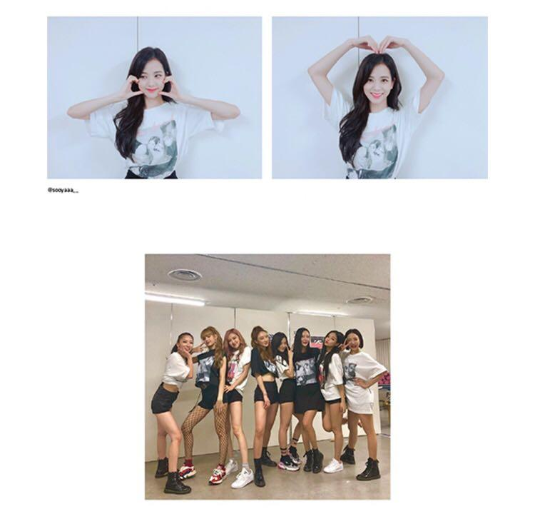 (READY-STOCK) Blackpink Official Square Up T-Shirts