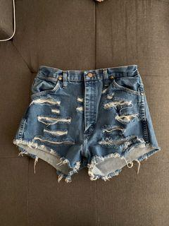 Vintage Wrangler shorts from Aritzia