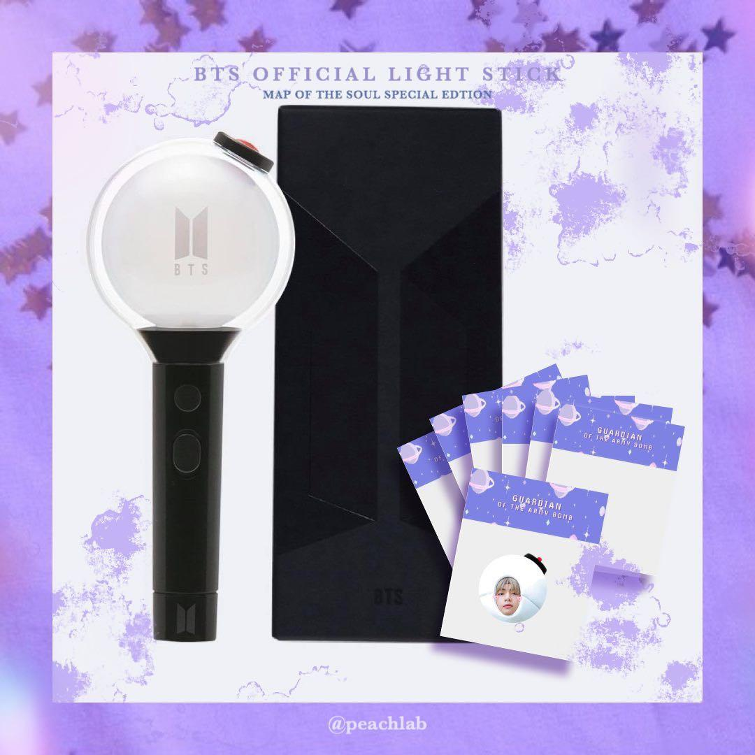 [WEPLY GO] BTS OFFICIAL LIGHTSTICK : MAP OF THE SOUL EDITION ( INCLUDE GIFTS)