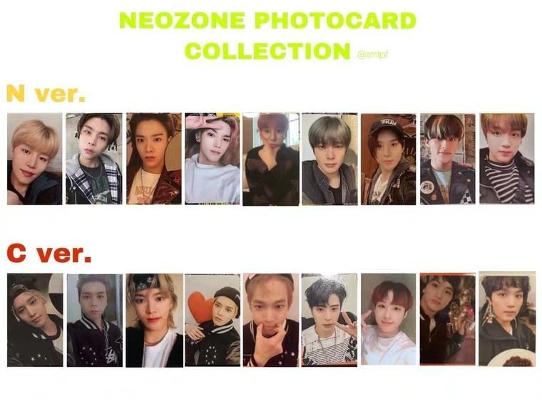 (WTS / PRE-ORDER) - NCT127 OFFICIALNEO ZONE PHOTOCARD [N & C VERSION]