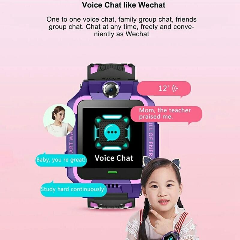Z6 (Q19)Smart Watch IP67 Deep Waterproof 2G GPS Tracker SOS Call Localization Reminder For Kids Children For Android 4.4 IOS 9 Or Above