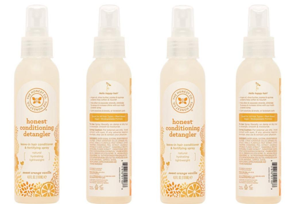 2 Bottles - The Honest Company Honest Leave in Conditioning Detangler