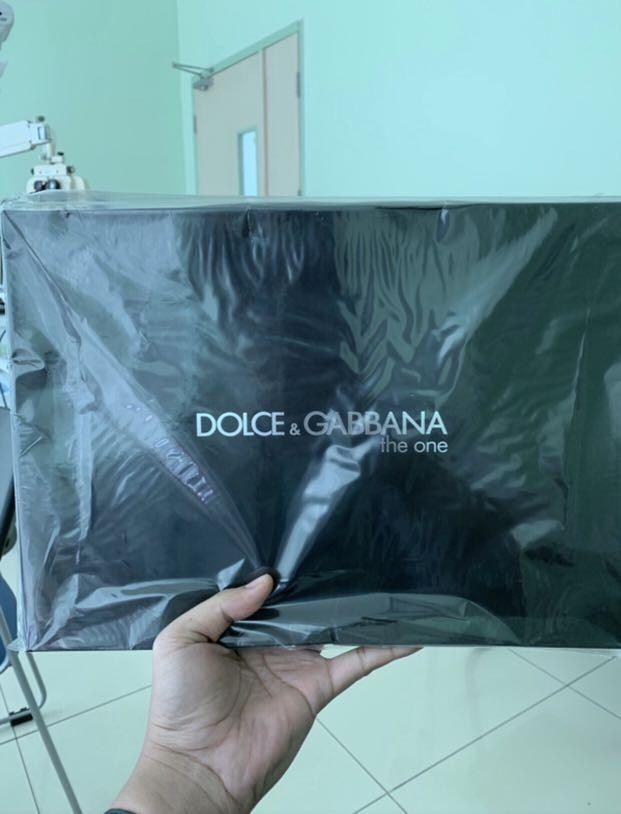 🔥🔥 Back in stock only 2pcs, Limited Dolce & Gabbana The One Clutch/Laptop Case - Vip Gift From D&G The One Perfume
