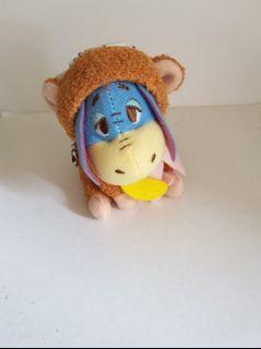 (包郵) Disney eeyore 猴子造型冬日特別版