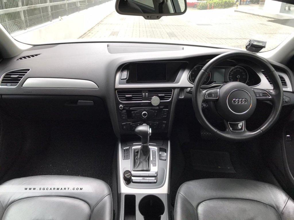 AUDI A4 SUPERB CONDITION FOR RENT!! Fuel efficient (14.5km/Litre) & Spacious! Whatsapp 8188 8616 now to enjoy special rates!!