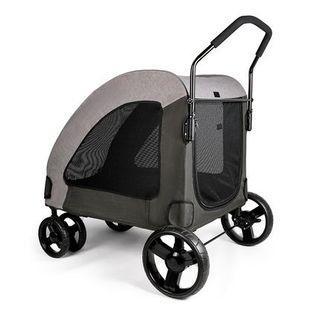 BIGI XXL 原裝 DoDoPet 超大寵物手推車 內箱長80cm 承重 110 lbs Pet trolley(Room Length-80cm, Max 110 lbs) #PC7 - 3 colors
