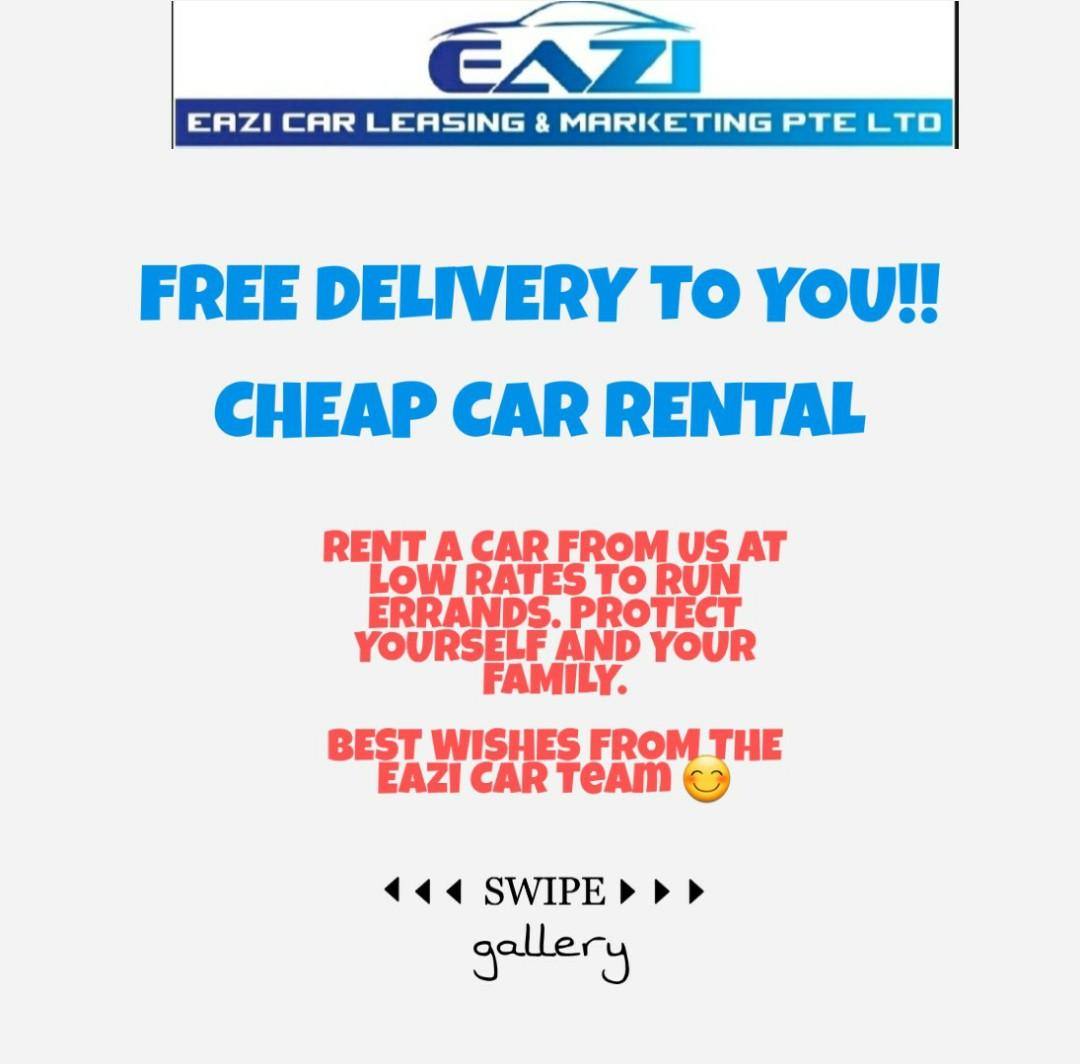 CHEAP CAR RENTAL FREE DELIVERY POSSIBLE P PLATE WELCOME LELONG