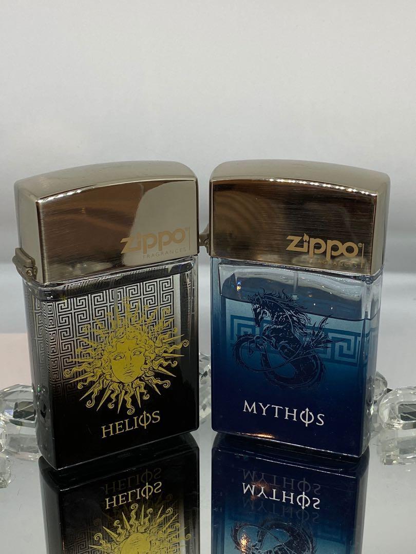 Men's perfumes Zippo Helios 100 ml and Zippo Mythos 100 ml