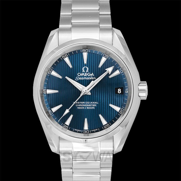 [NEW] Omega Seamaster Aqua Terra 150M Master Co-Axial 38.5 mm Automatic Blue Dial Steel Men's Watch 231.10.39.21.03.002