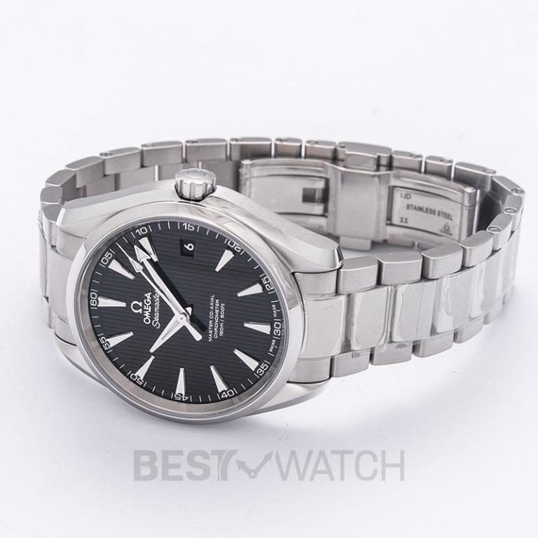 [NEW] Omega Seamaster Aqua Terra 150M Master Co-Axial 41.5 mm Automatic Black Dial Steel Men's Watch 231.10.42.21.01.003