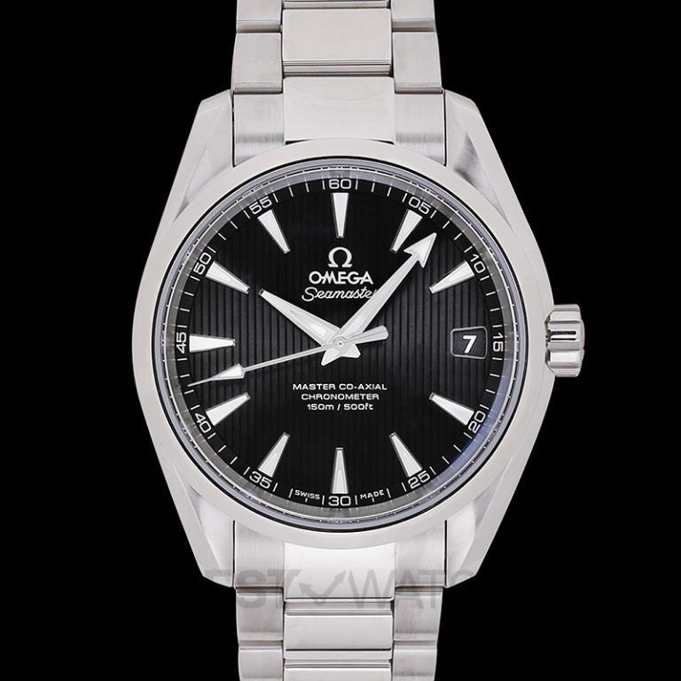 [NEW] Omega Seamaster Aqua Terra 150M Master Co-Axial 38.5mm Automatic Black Dial Steel Men's Watch 231.10.39.21.01.002