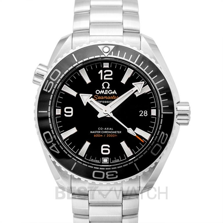 [NEW] Omega Seamaster Planet Ocean 600M Co-Axial Master Chronometer 39.5mm Automatic Black Dial Steel Men's Watch 215.30.40.20.01.001